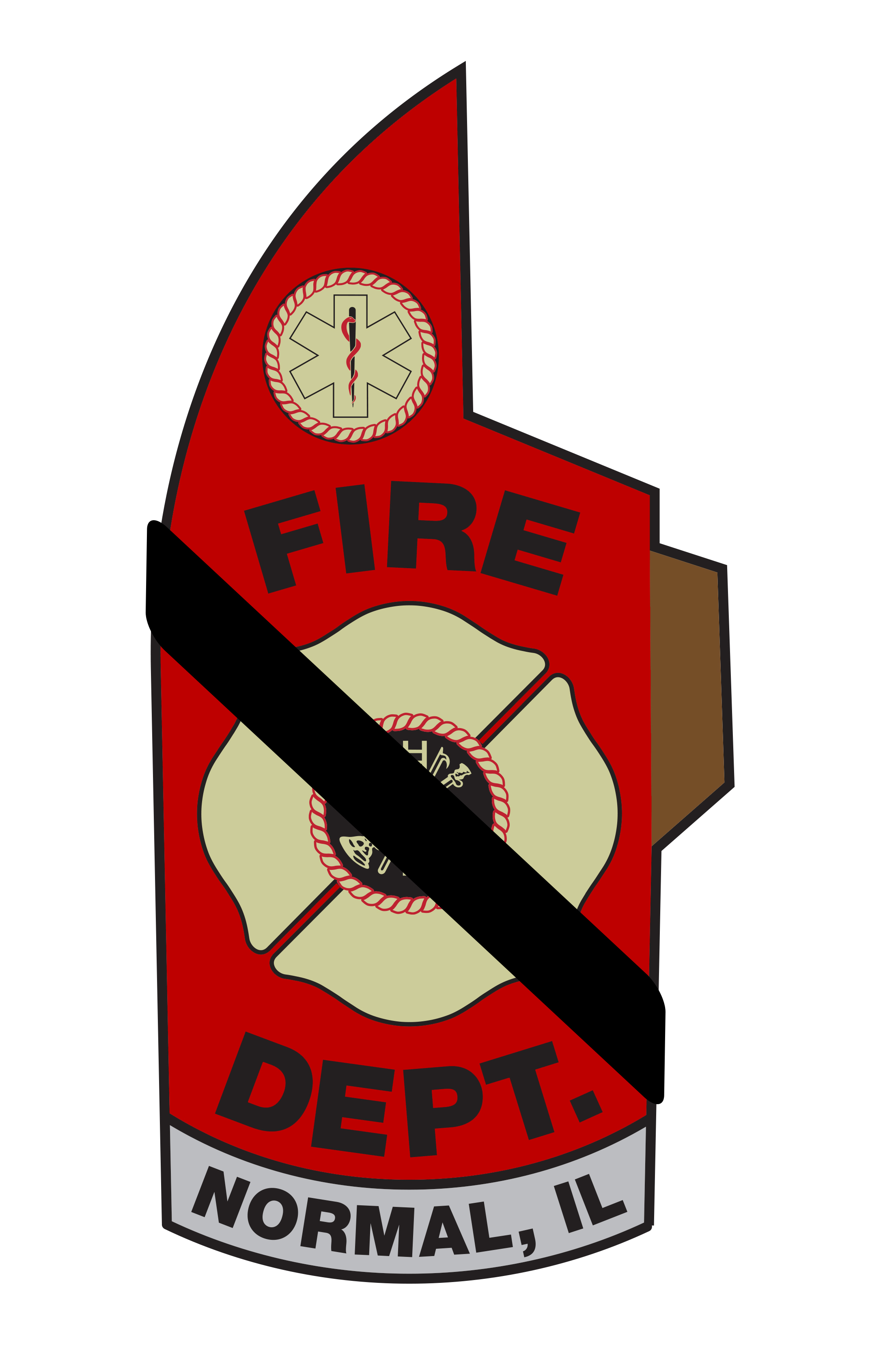 NFD Mourning Band